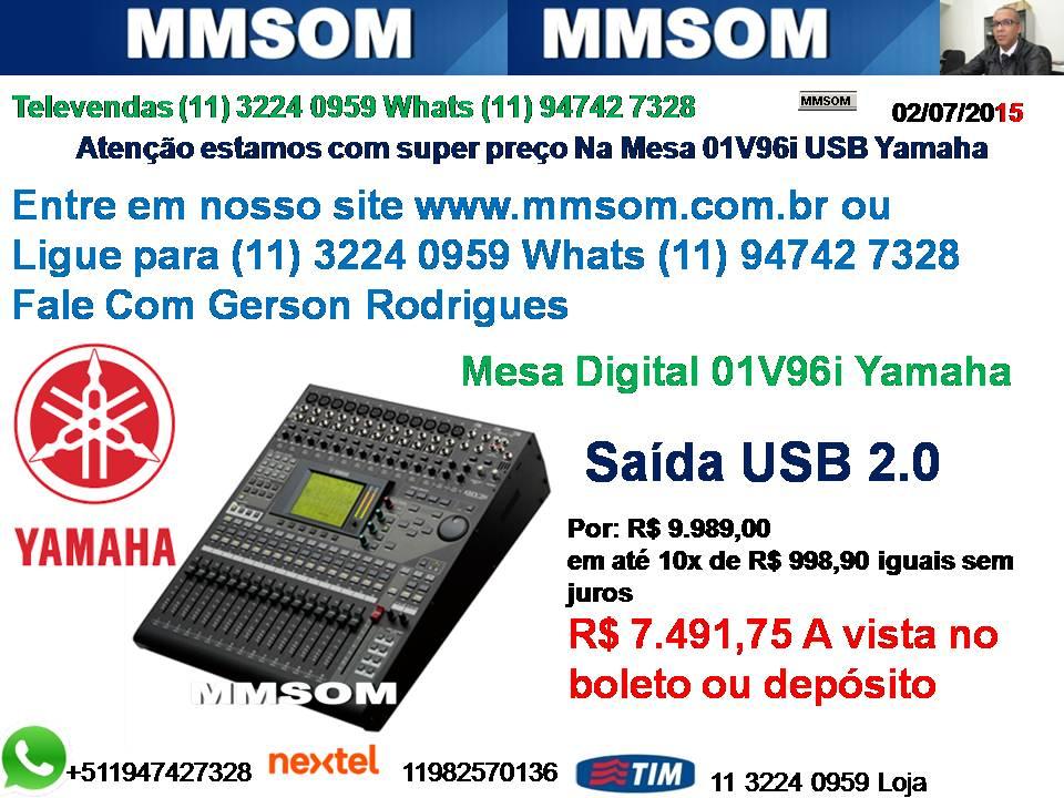 Oferta Do Dia 01v96i Yamaha Digital Por R A